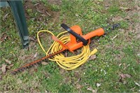 """Chairs and Black & Decker 16"""" Hedge Trimmer"""