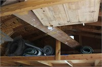 Picking Rights in Shed Rafters