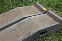 Pair of Plastic Car Ramps