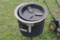 All-In-One Gas/Charcoal Smoker