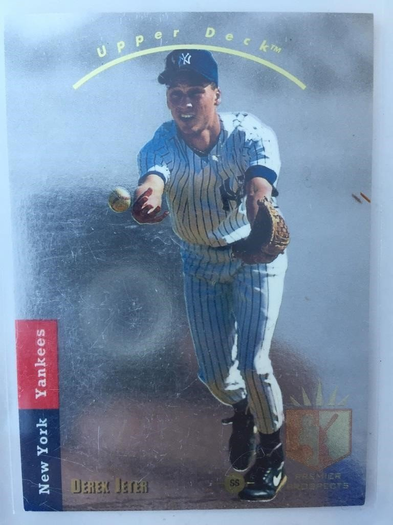 1993 Upper Deck Sp Derek Jeter Rookie Card Haymach Canada