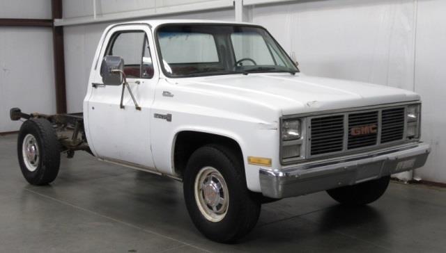 1985 gmc sierra 2500 gas mileage