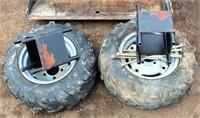 Wheel Horse Garden Tractor (view 5, duals)