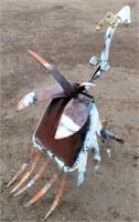 Shovel Bird (yard art)