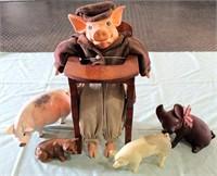 Pig Figurines