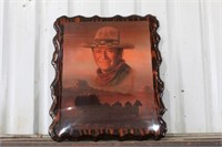 John Wayne Plaque