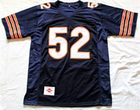 Kahlil Mack #52 Chicago Bears Autographed Jersey w/COA #44884.  Size XL (view 1)