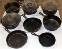 Cast Iron Kettles & Skillets
