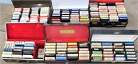 Several 8-Track Tapes (country & polka)