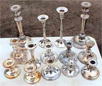 Misc Silver Pcs, Candle Holders