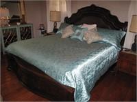 King Size Bed Frame and Adjustable Base