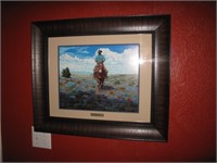 """Kenneth Wyatt Prairie flower  20""""x16"""" print"""