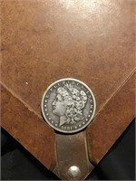 1881 Morgan silver dollar s