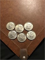 Six Kennedy clad halves