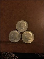 Three Kennedy clad halves