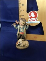 Signed Limited edition Anri  wood carving