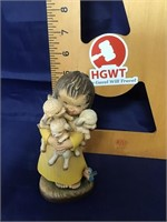 Anri Wood carving figurine