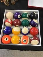 Legacy billiards pool balls