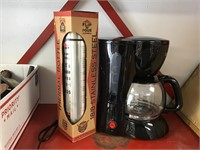 Coffee pot and Eagle thermos