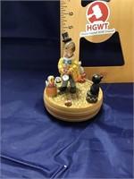 Anri wood carousels Reuge worksb