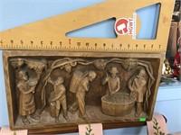 Franco wood carving