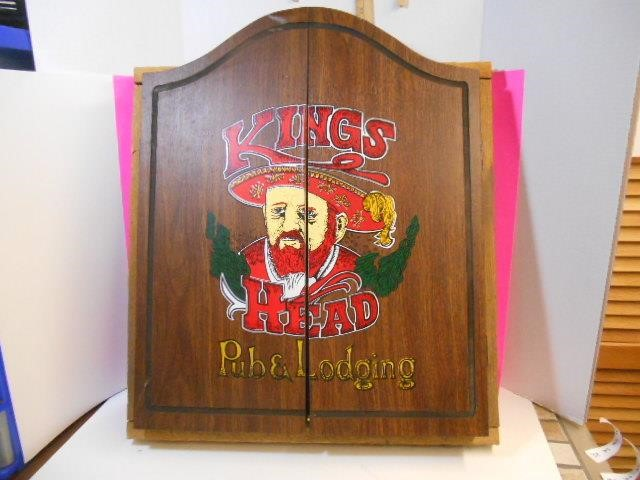 Kings Head Pub and Lodging Dart Board and Darts | Russell's