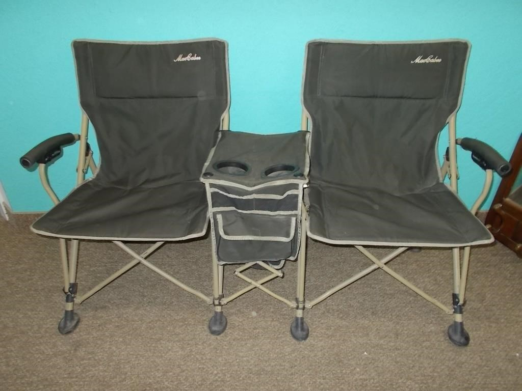 Super Maccabee Double Camping Chair Toodle Loo Auctions Caraccident5 Cool Chair Designs And Ideas Caraccident5Info