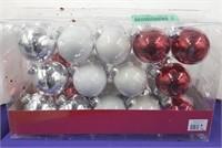 Set of 28 Glass Ornaments