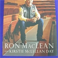 Ron McLean Hockey Towns Hardcover Book