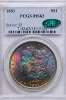$1 1883 PCGS MS62 CAC