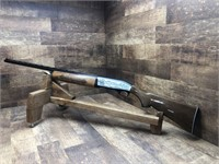 "SKB 12ga, semiautomatic, 28"" cent rib barrel, Mod"