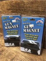 2- Gun concealment magnets
