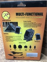 Multi-Function solar charger