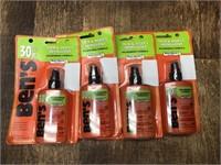 4- Ben's insect repellent, 3.4 oz 30%deet