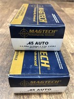 2- boxes Magtech  45ACP 230 gr.
