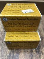 2- boxes 357 SIG 125 gr.