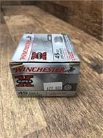 1 20 rnd. box 45 Colt, Winchester 255 gr.