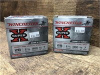 2- boxes 28 ga. , Winchester