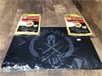 Gun cleaning mat and clothes