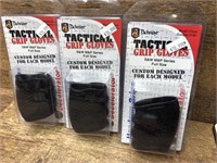 3- Pachmayer Tactical Grip Gloves, S&W M&P