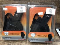 2- Bulldog Side Holster, Size 1 auto.