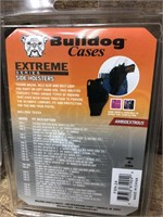 2- Bulldog Side Holster, Size 24 revolver,
