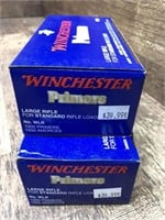 2- boxes Large rifle primers, Winchester (2000