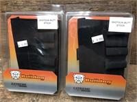 2- Bulldog Shotgun butt stock shell holders