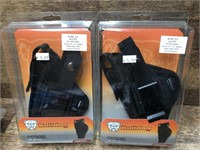 2- Bulldog Side holsters Size 33 auto