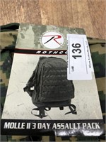 Rothco MOLLE assault  pack
