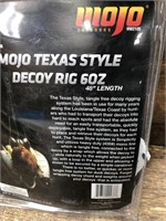 3- Mojo Texas styles decoy rigs
