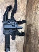 Blackhawk drop leg holster