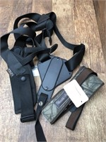 Uncle Mikes shoulder holster M, and rifle slung