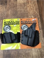 Stealth Operator holsters LH IWB, RH Belt
